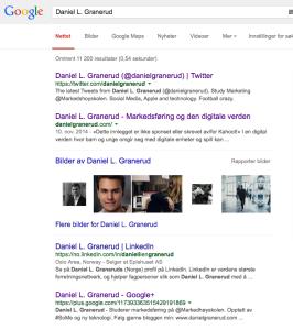 merkevaren min hos google